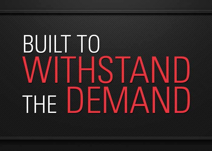 Withstand the Demand graphic